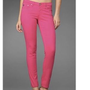 AG Pink Limited Edition The Stilt Pants Jeans 29R